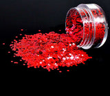Bio-Glitter, Large Chunky, Red, 5g