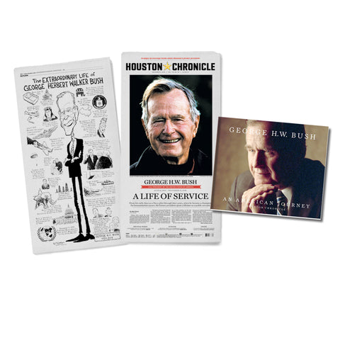 President George H.W. Bush- An American Journey Package