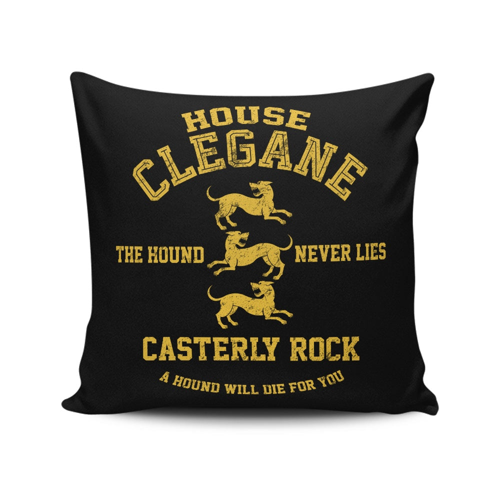 The Hound Never Lies - Throw Pillow