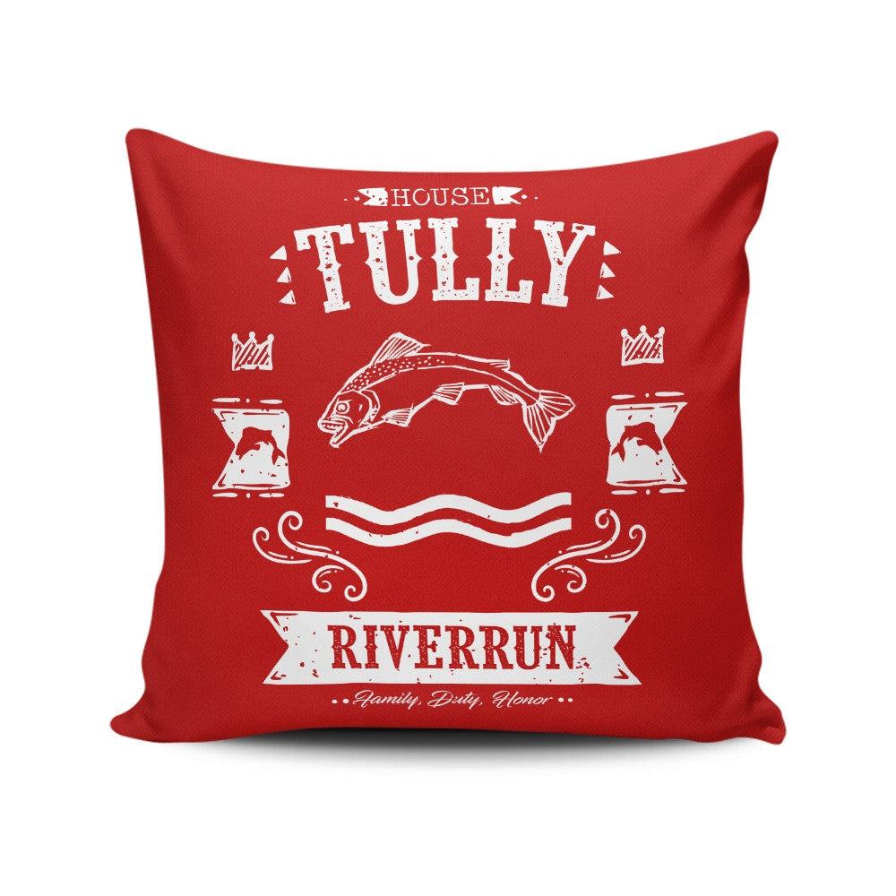 The Silver Trout - Throw Pillow
