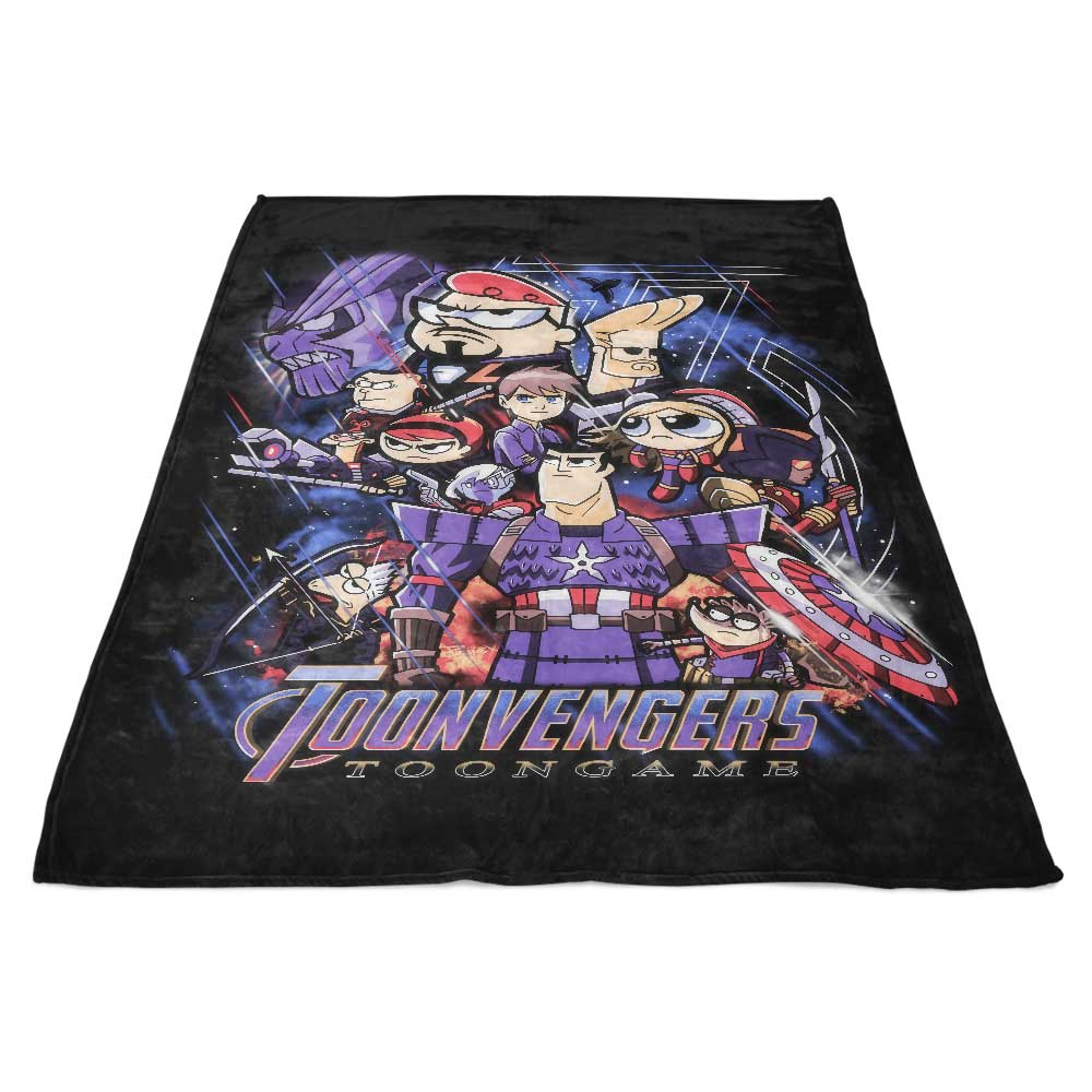 Toongame - Fleece Blanket