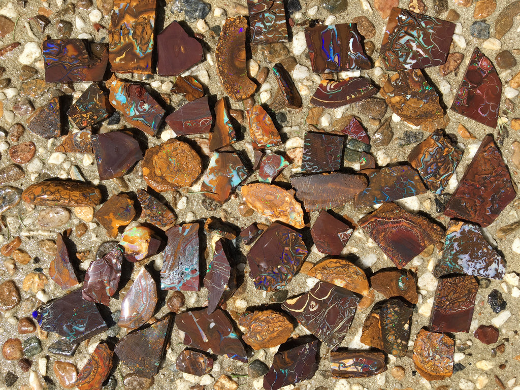 Koroit slices of Matrix Opal