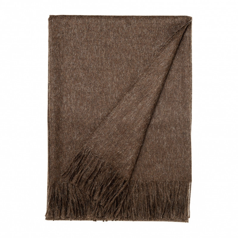 LUXURY PLAID THROW - MOCCA - Eclectic Cool