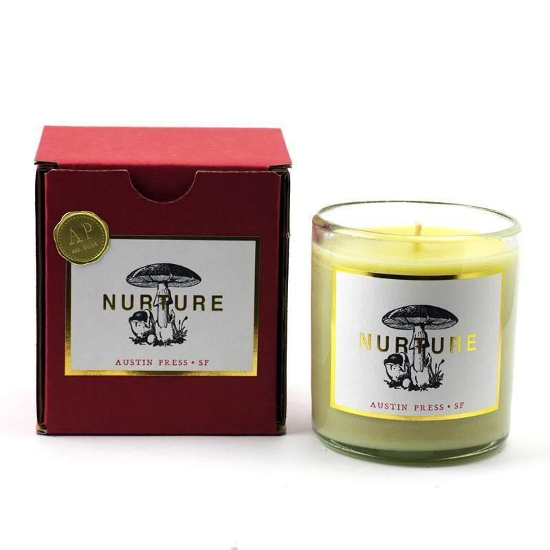 Austin Press Nurture Candle - Eclectic Cool
