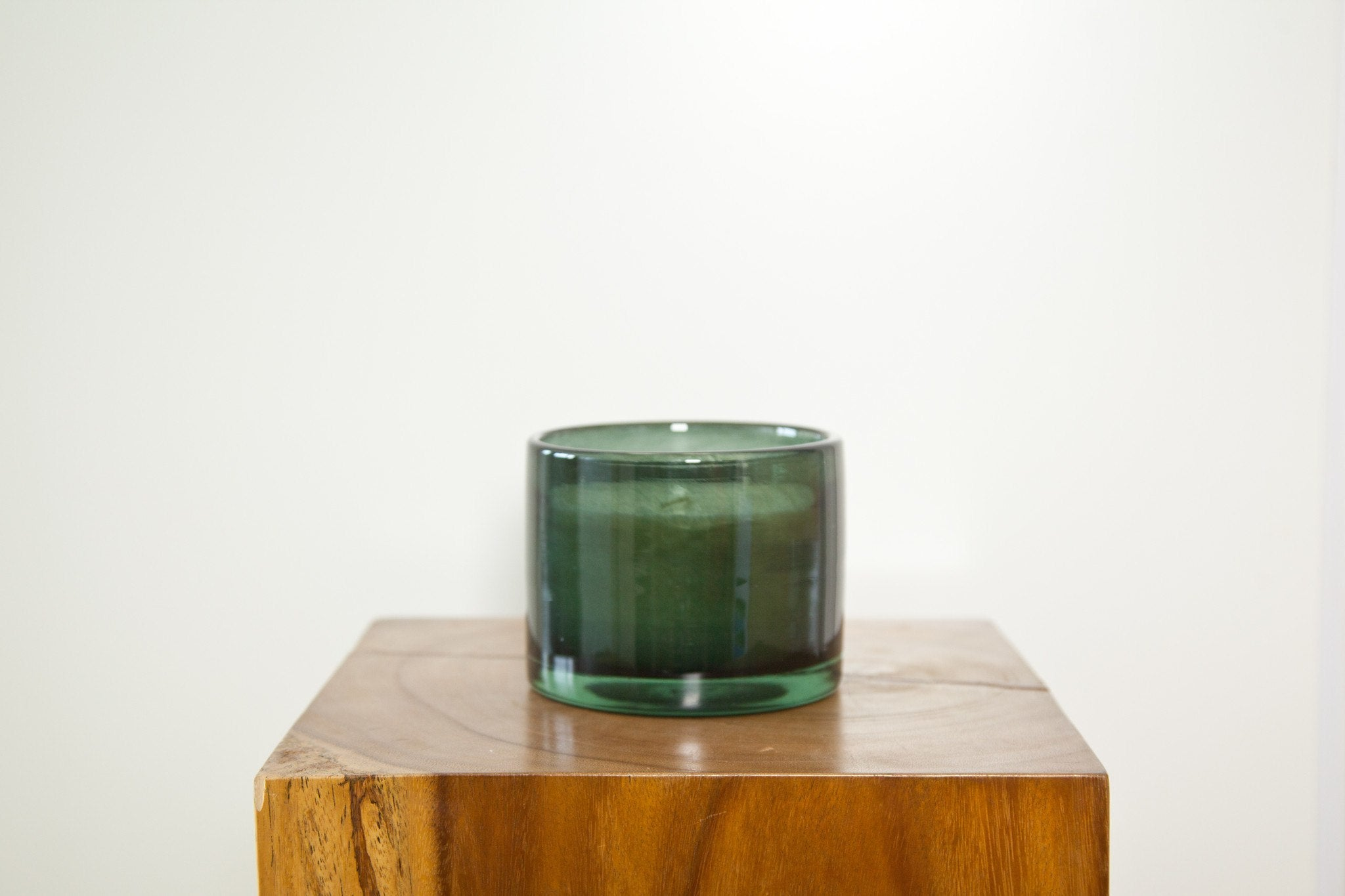HENRY DEAN CYLINDER CANDLE VASE IN SMOKE - Eclectic Cool