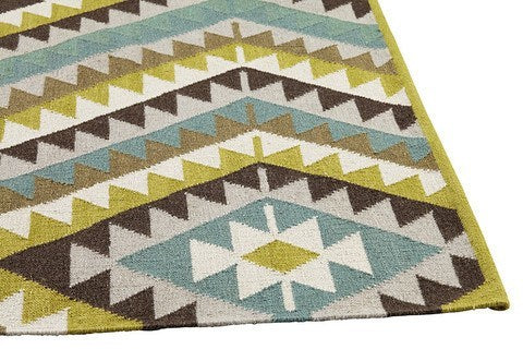ARMADILLO KILIM WEAVE RUG - Eclectic Cool  - 1