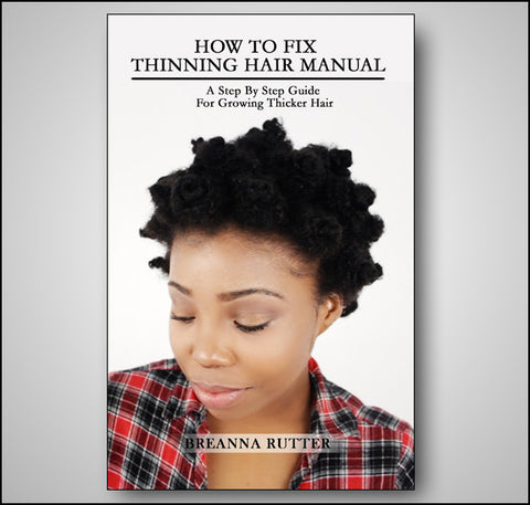 How To Fix Thinning Hair Manual (PDF Download)
