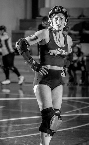 Beauty, Brains, Bruises and Roller Derby