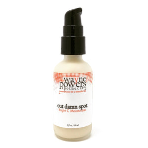 Out Damn Spot Bright C Organic Retinol Moisturizer for All Skin Types