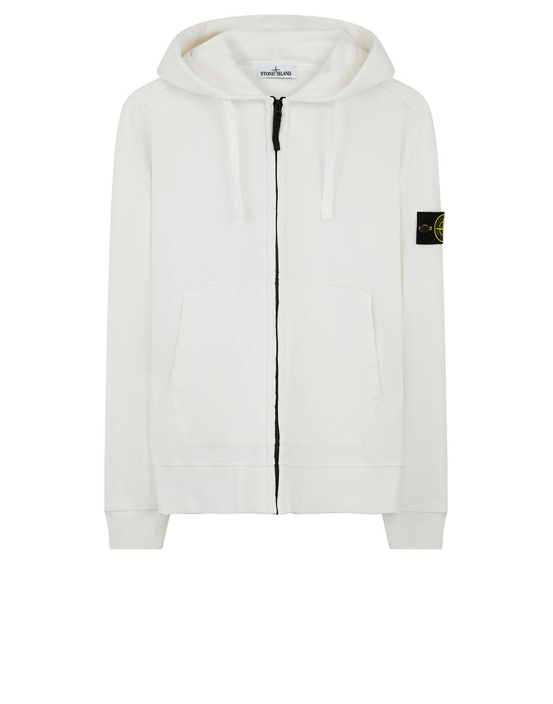 60251 Hooded Sweatshirt in White