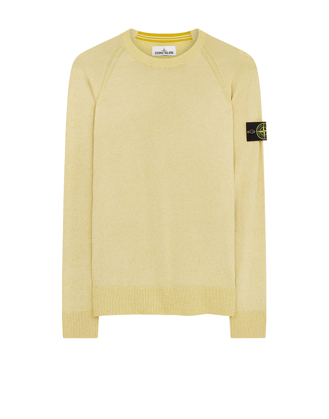545A6 Crewneck Kint in Yellow
