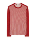 244X2 STONE ISLAND MARINA T-Shirt in Brick Red