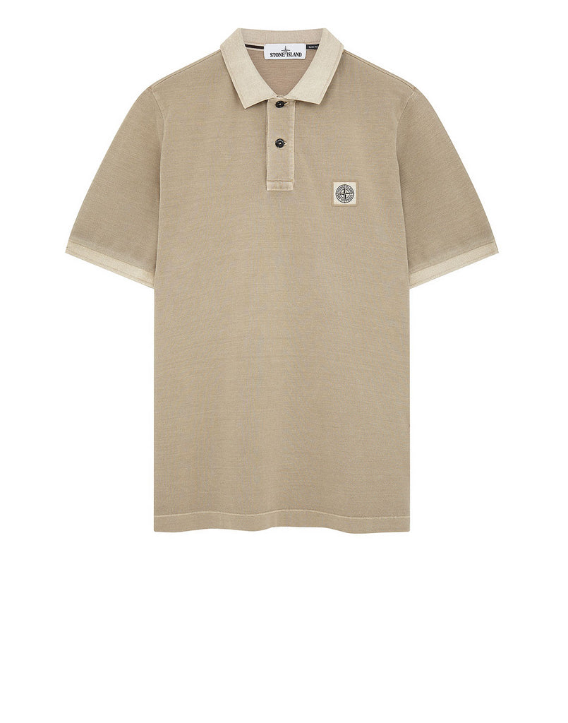 22S18 Polo Shirt in Sand