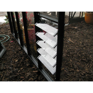 Elite Greenhouse 5 Blade Louvre Vent - Add much needed ventilation to your Greenhouse - Gardenbox