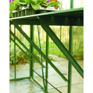 Genuine Elite Greenhouses Aluminium Diamond Staging - Choice of Sizes and Colours - 5 Slat & 7 Slat Model - Gardenbox