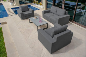 Zen 2 Seater Weatherproof Outdoor Sofa Set by Maze Rattan - Gardenbox