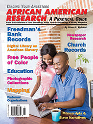 African American Research - $8.50 for PDF & $9.95 for Print Edition