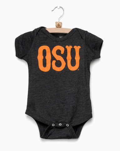 OSU Gundy Business Time Gray Triblend Tee