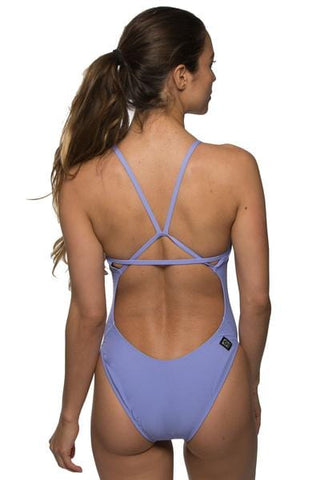 Perry Fixed-Back-Onesie - Lavender