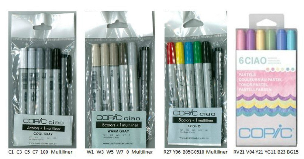 Copic Marker CIAO set 5