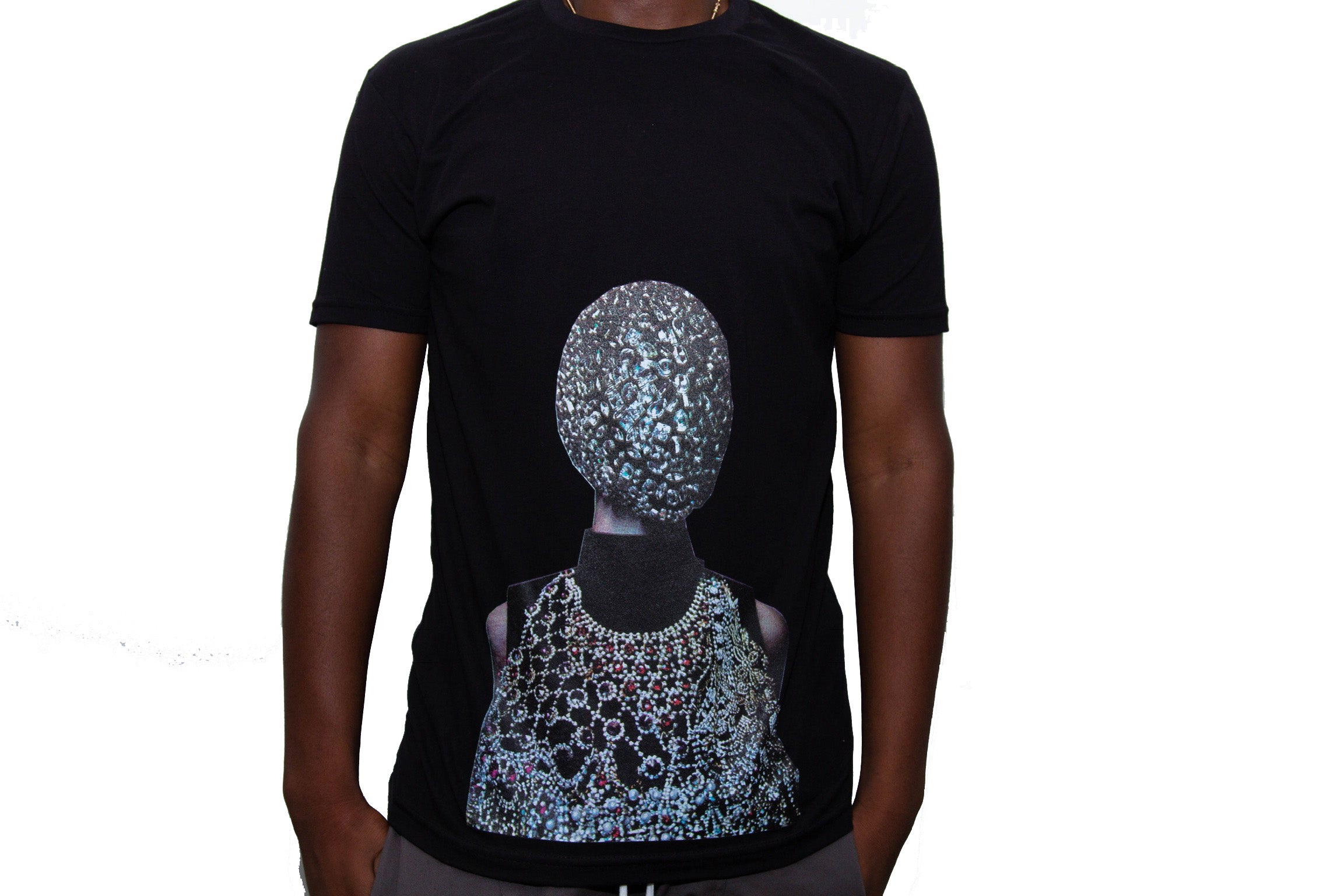 "365 Clothing ""Masked"" T-shirt -Black"
