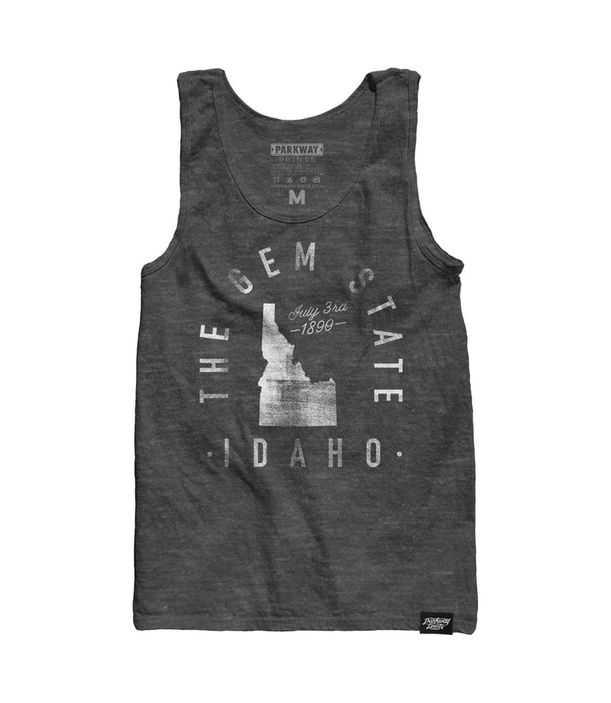 State of Idaho - Motto - Tank Top - Parkway Prints