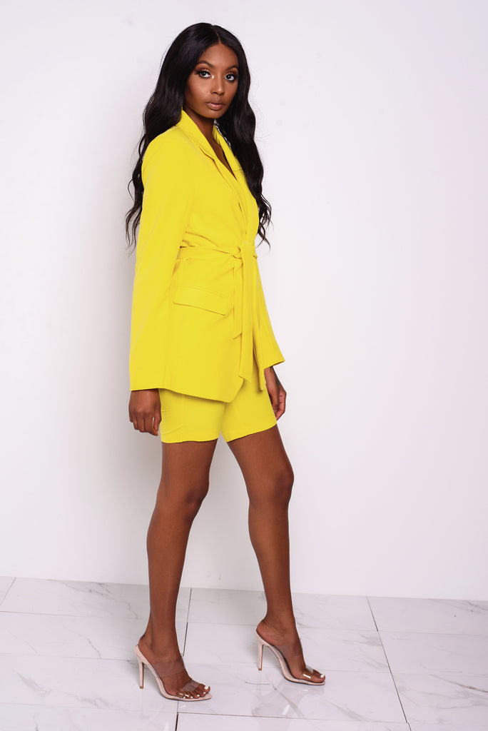 Yellow Diana Blazer