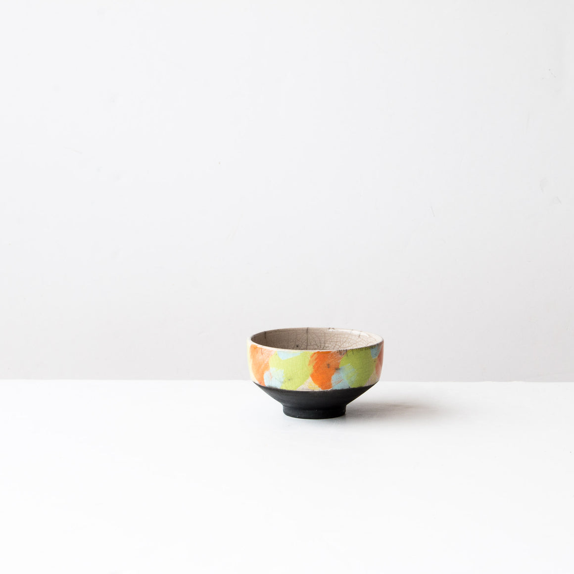 Coloured Raku Tea Bowl
