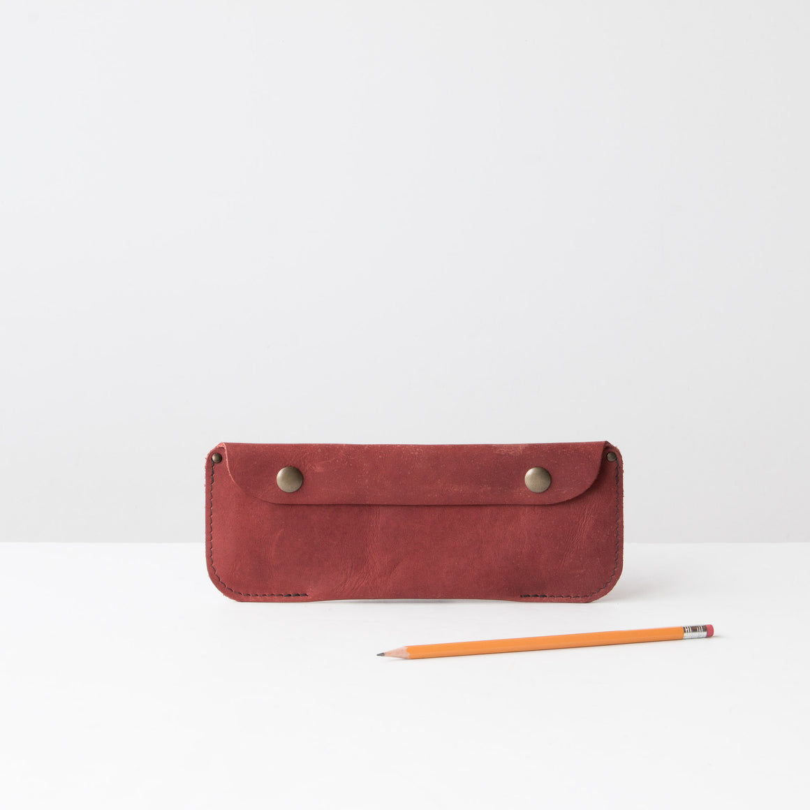 Multiusage Leather Pencil Carrying Cases - Handcrafted in Canada Sold by Chic & Basta