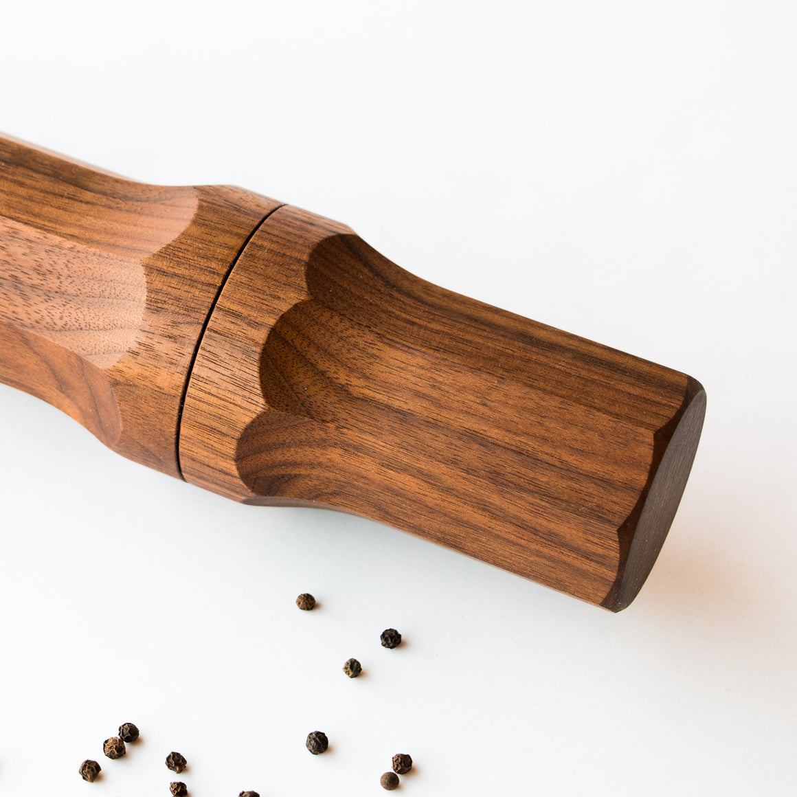 Salt and Pepper Mill - Handmade in Walnut Wood - Sold by Chic & Basta