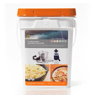 72 Hour Personal Meal and Gear Solution Pail