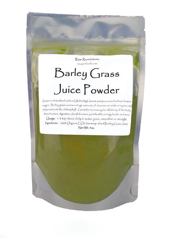 Barley Grass Juice Powder 4oz
