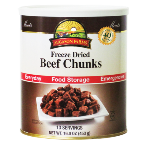 Beef Chunks Freeze Dried (Real Meat)