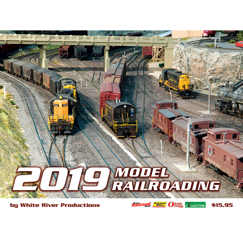 Model Railroading Calendar 2019