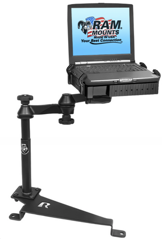 RAM-VB-172-SW1 RAM Mounts No-Drill Laptop Mount for the Ford Edge & Fusion -  - RAM Mounts - Synergy Mounting Systems - RAM Mounts Authorized Dealer