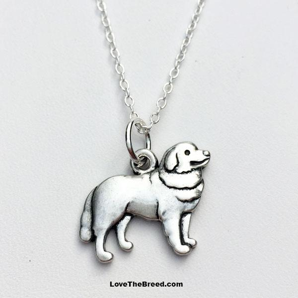Bernese Mountain Dog Charm Necklace