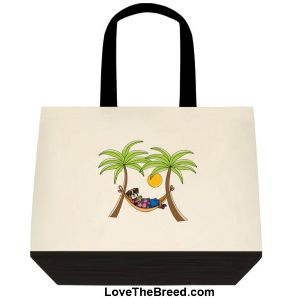Boxer in Hammock Extra Large Tote