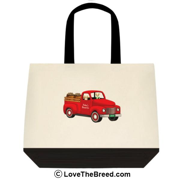 Chihuahua Biscuit Truck Extra Large Tote