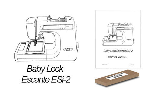 Baby Lock Esante ESi-2 LCD Backlight Replacement Kit