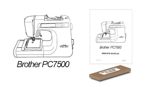 Brother PC7500 LCD Backlight Replacement Kit