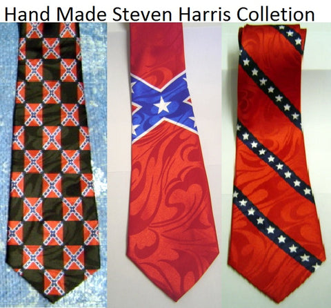 Battle Flag Ties Steven Harris Collection