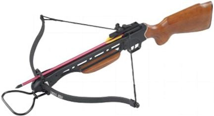 150 lb. Aluminum Frame Wood Stock Crossbow