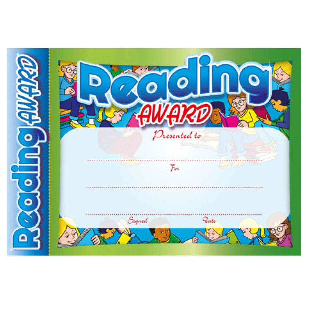 #6151 & #6152 Reading Award Certificates