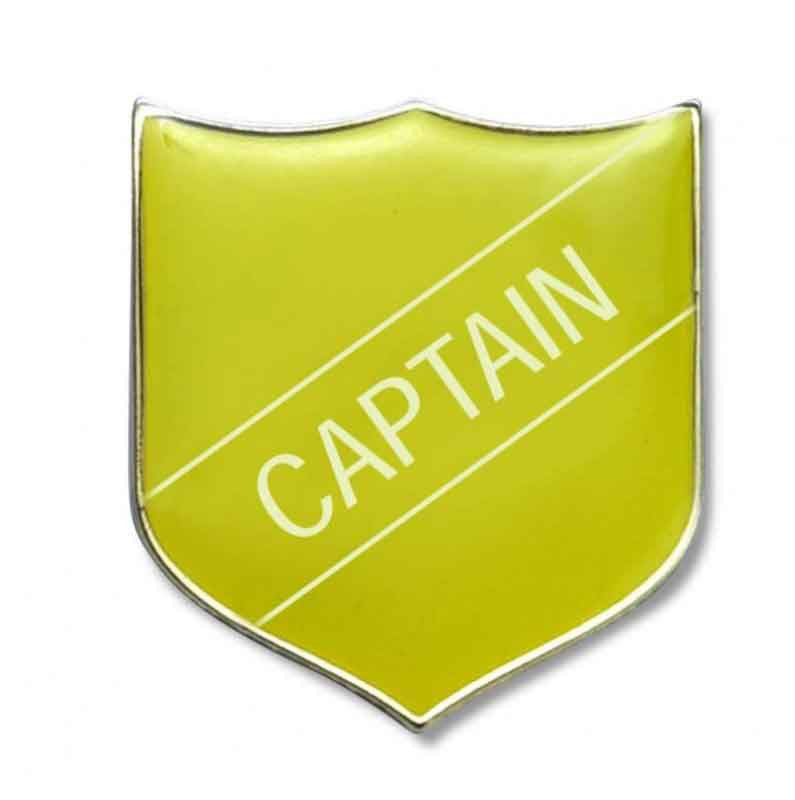#E3 Captain Enamel Badges - pack of 5