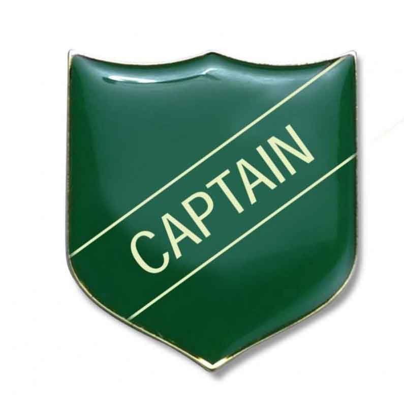 #E4 Captain Enamel Badges - pack of 5