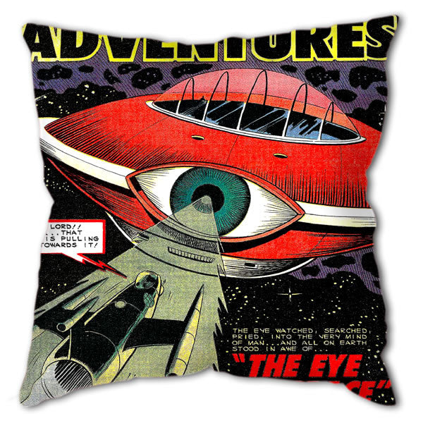 "Cushion - Sci-Fi ""Eye in Space"""