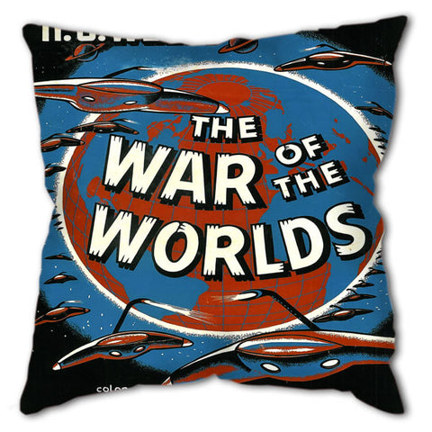 "Cushion - Cult Movies ""War of the Worlds"""