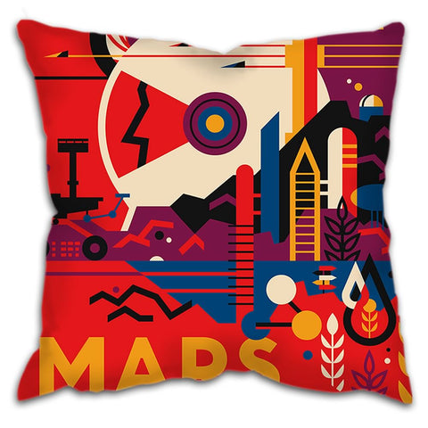 "Cushion - ""MARS"" Visions of the Future"