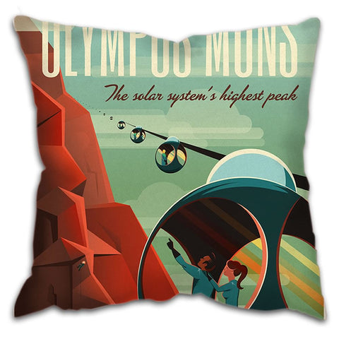 "Cushion - ""Olympus Mons"" Space X"