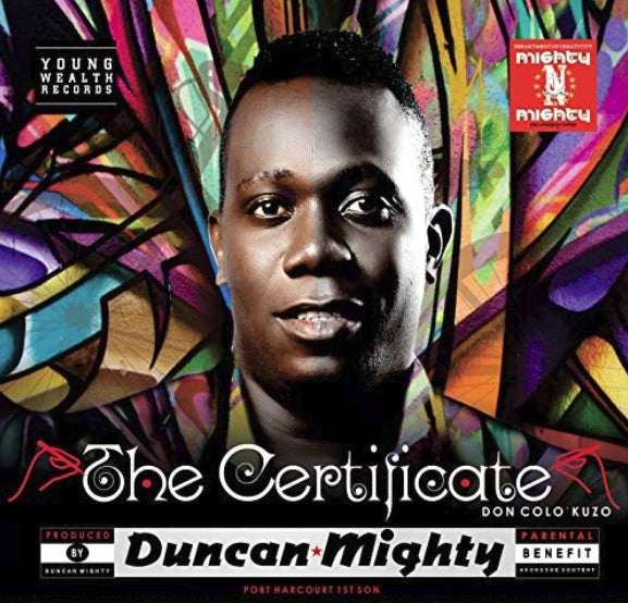 Duncan Mighty - The Certificate - CD